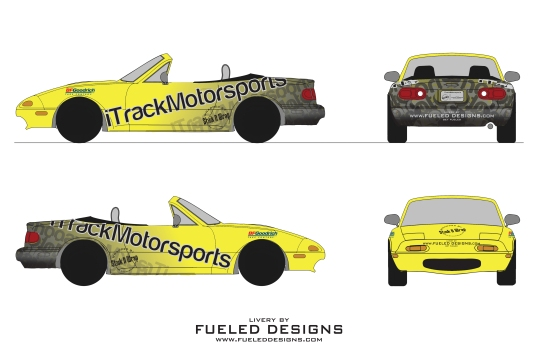 iTrack Livery